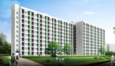 广州高层宿舍389#-宿舍