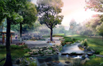 西安景觀綠化2#-屋頂景觀綠化