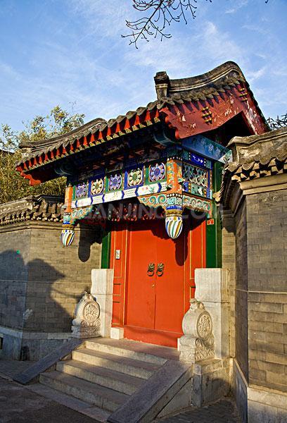 北京獨立式(仿古)垂花門